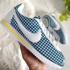 NEW Nike Classic Cortez QS Gingham Womens Sneakers